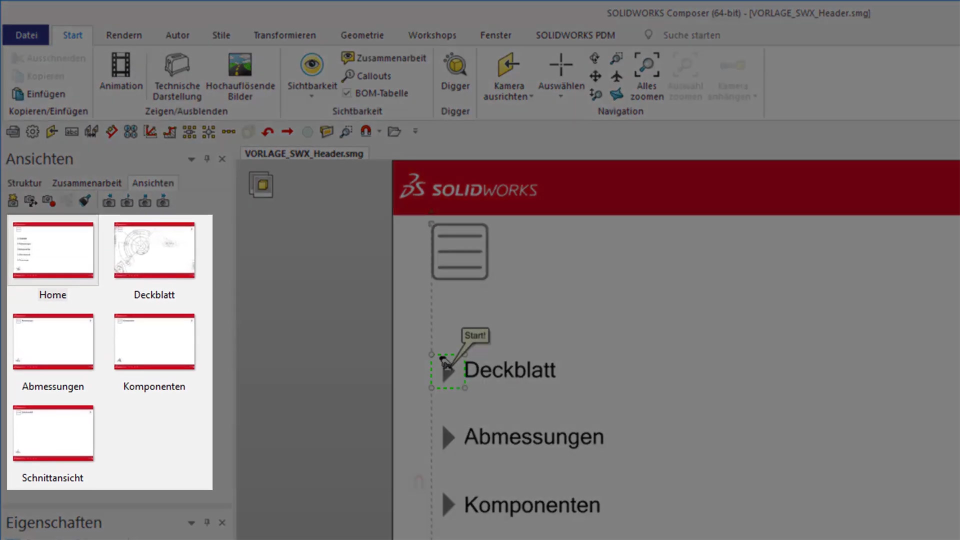 SOLIDWORKS Composer 2019 Video Anleitung