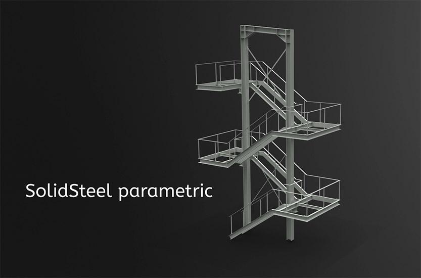 SolidSteel parametric Treppen Blog