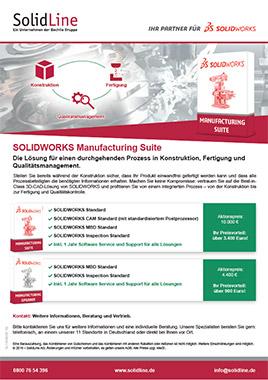 SOLIDWORKS Manufacturing Suite Datenblatt