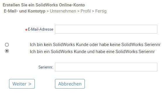 SOLIDWORKS Installation Erste Schritte