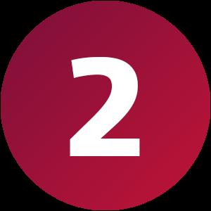 Kreis 2 SolidLine rot