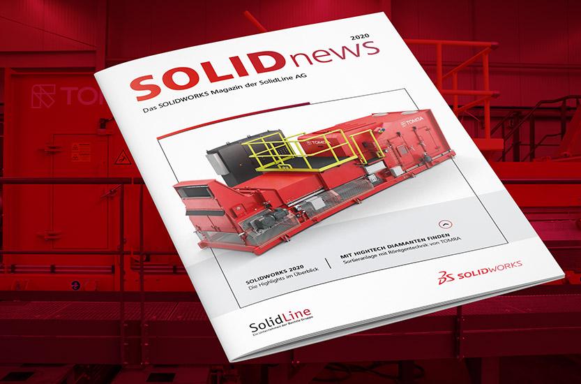 SolidLine Kundenmagazin solidnews 2020