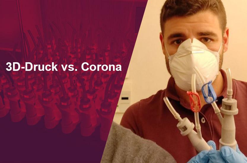 Blog 3D-Druck vs Corona