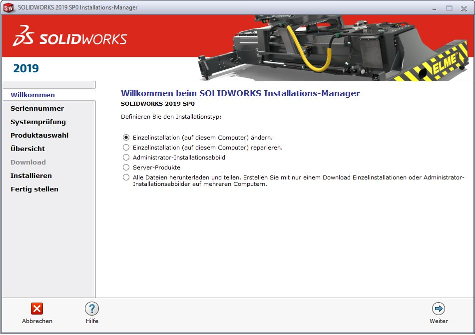 SOLIDWORKS QuickStartGuide Installations Manager