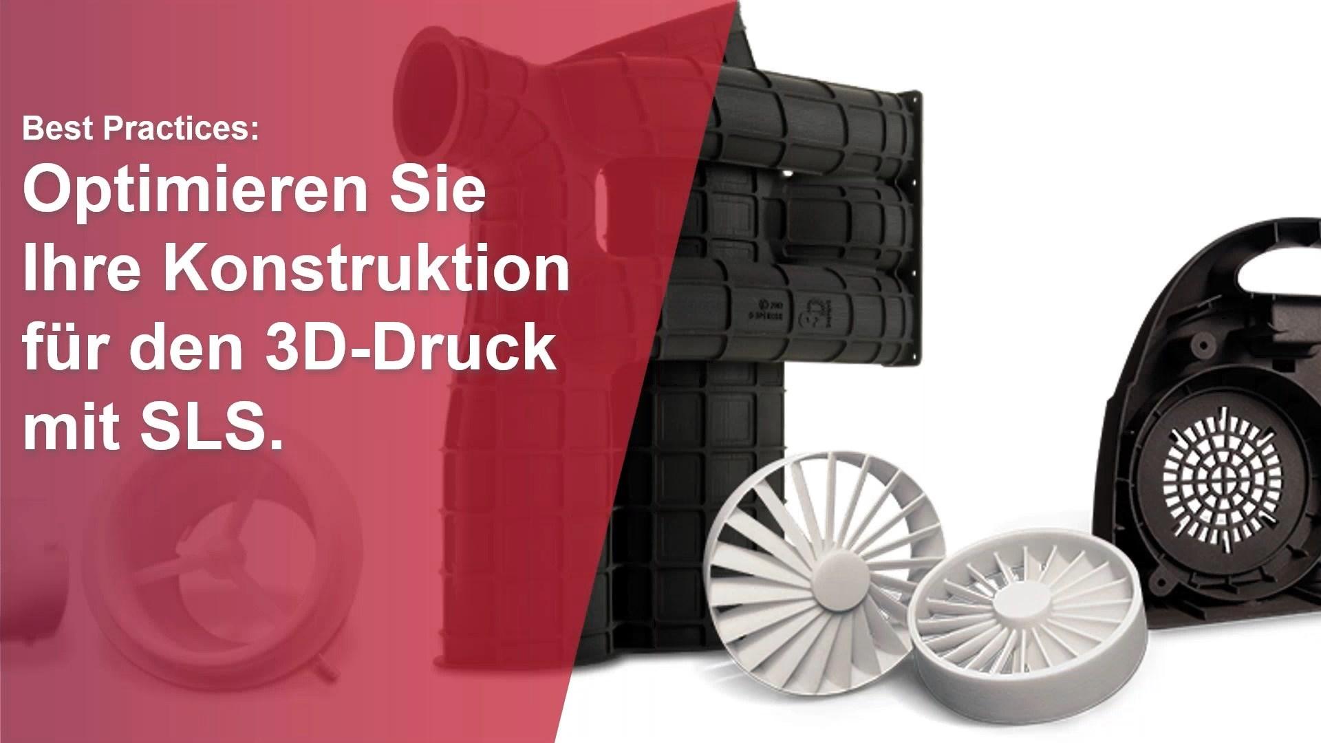 [Video] Best Practices: Optimieren Sie Ihre Konstruktion für den 3D-Druck mit…