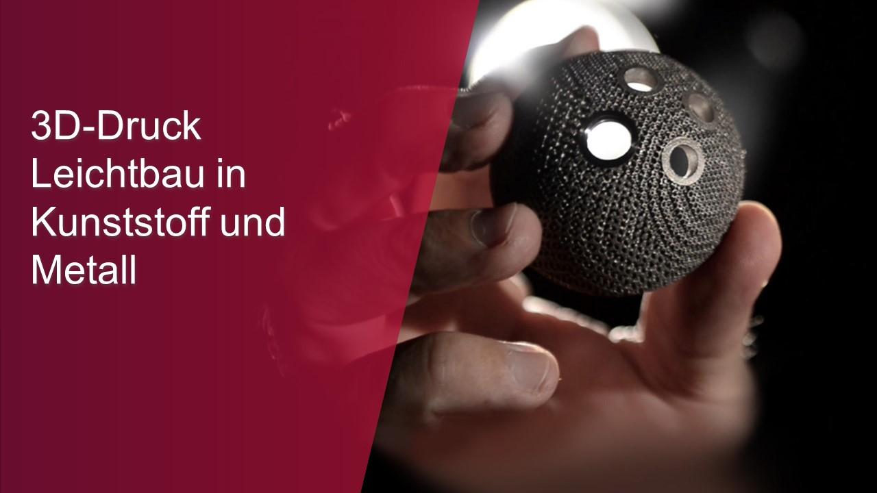 3D-Druck Leichtbau in Kunststoff und Metall-thumb