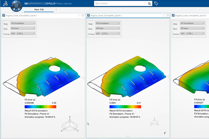 SolidLine 3DEXPERIENCE Plastics Injection Engineer