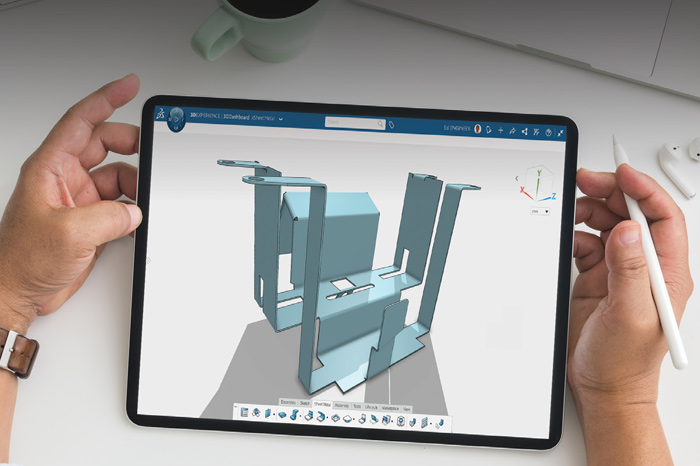 SolidLine 3DEXPERIENCE 3D SheetMetal Creator