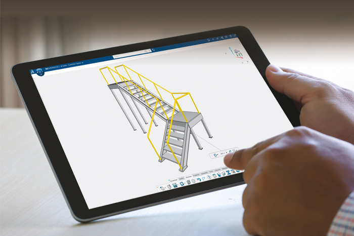 SolidLine 3DEXPERIENCE 3D Structure Creator